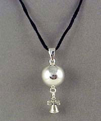 Liberty Bell Chiming Ball Necklace